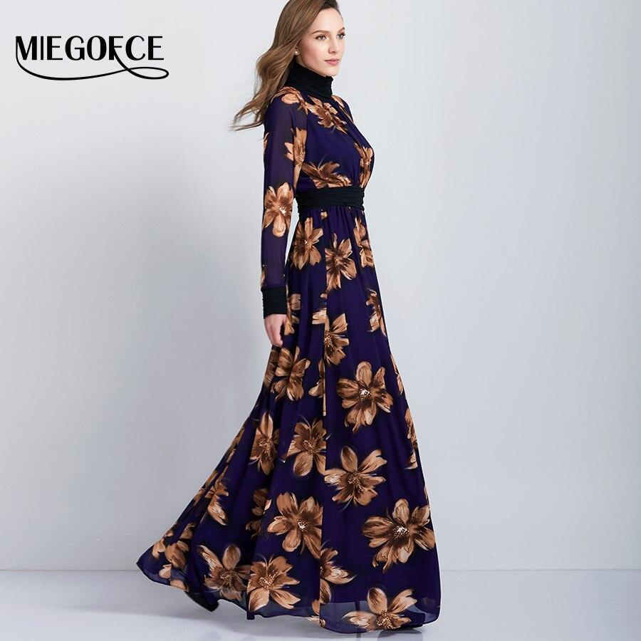 Woman 39 S Long Muslim Abaya Dresses In The Floor Elegant