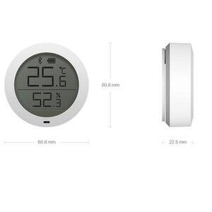 Image 5 - Xiao termómetro digital mi jia con pantalla LCD, Bluetooth, sensor de temperatura inteligente Hu mi dity hu mi, aplicación para hogares