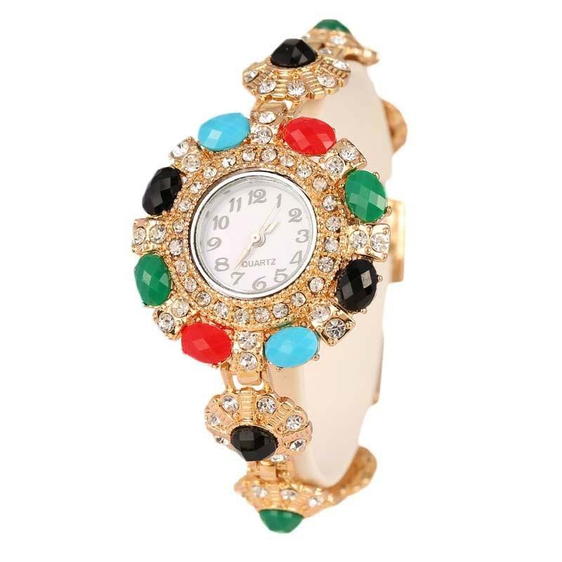 YUSHENG fashion women watch with diamond gold watch ladies t
