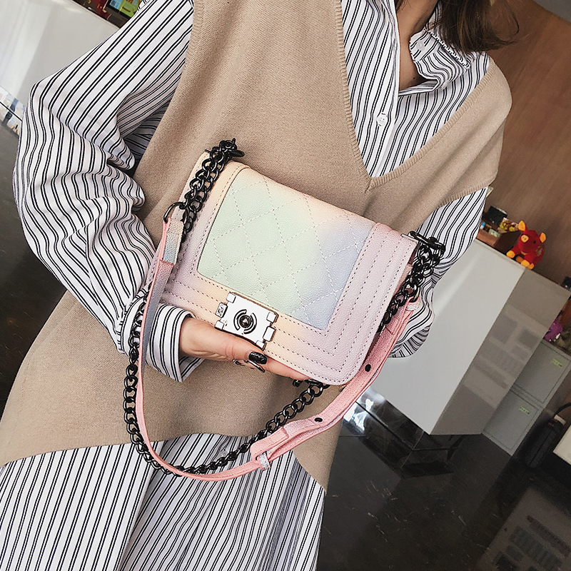 dbd2a3a3f37 US $20.17 29% OFF|Luxury Handbags Women Bags Designer Chain Bag Women  Messenger Bags Candy Small Crossbody Bags For Women 2019 bolsa feminina-in  ...