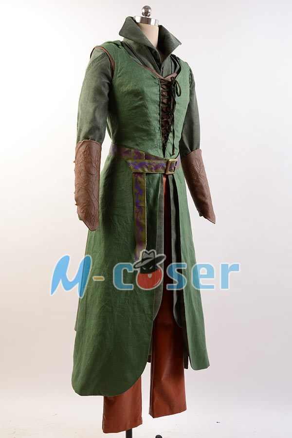 באיכות גבוהה ההוביט 2/3 דון Tauriel תלבושת ליל כל הקדושים Cosplay תלבושות למבוגרי נשים סט מלא