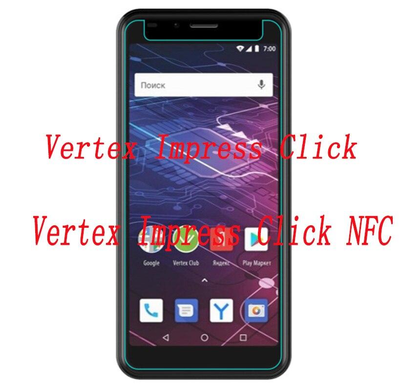 Smartphone 9 H Gehard Glas Voor Vertex Impress Klik/klik Nfc Explosieveilige Beschermfolie Screen Protector Cover Telefoon