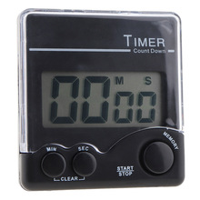 Digital LCD Electronic Kitchen Timer Stopwatch Countdown Alarm Clock Magnet Time Reminder цена в Москве и Питере