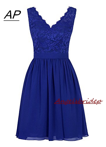 Angelsbridep Short Embroidery Bridesmaid Dress 2019 Latest Simple Design Sexy V-neck Cap Shoulder Vestido Madrinha Formal Gowns To Win A High Admiration And Is Widely Trusted At Home And Abroad.