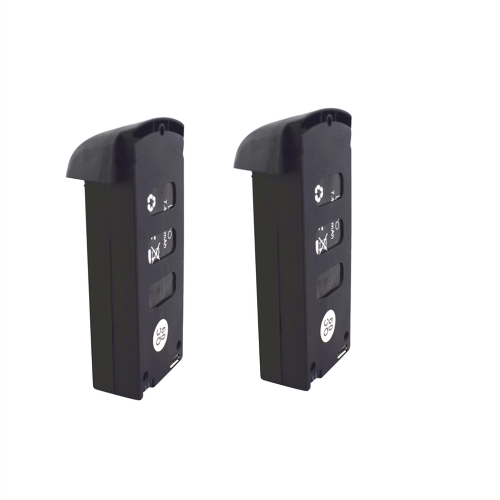 2PCS 7.4V 900mah lithium battery for <font><b>SMRC</b></font> S20 GPS version folding four-axis drone spare parts battery image