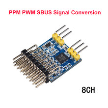 8CH Receiver PWM PPM SBUS 32bit Encoder Signal Conversion Module Converter input voltage 3.3-20V For RC Airpanle Drone(China)