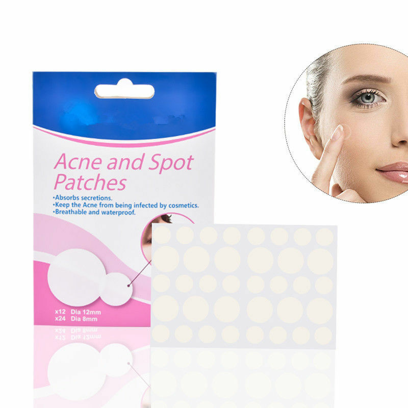 US $1 22 32% OFF|36pcs/bag Acne Pimple Master Acne Patches Face Spot Scar  Care Treatment Stickers for Makeup Separate Wounds-in Face Skin Care Tools