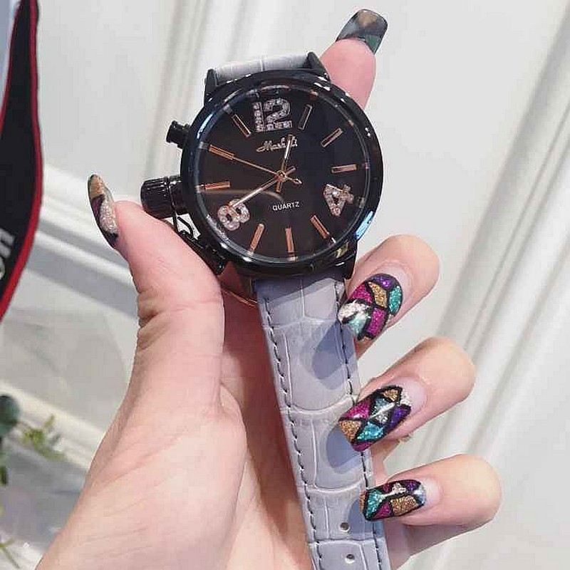 Fashion Watch Women Dress Quartz-Watch Casual Wristwatch Women Relogio Feminino relojes mujer Leather Waterproof Clock dgjud new fashion casual watches women quartz watch leather watch strap ladies hodinky relogio feminino relojes mujer 2016 clock