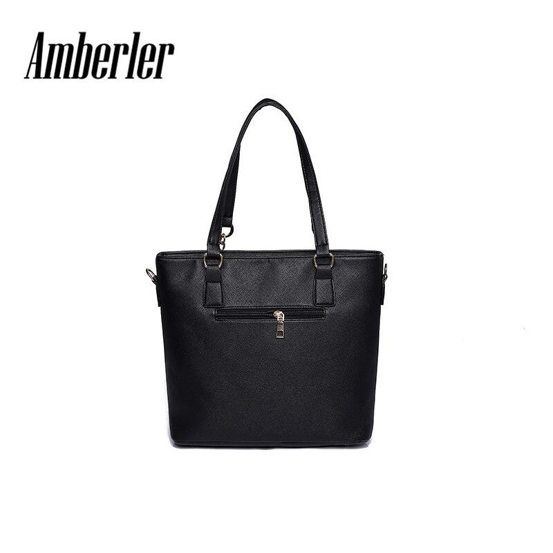 Aliexpress.com   Buy Amberler High Quality PU Leather Women Handbags 6  Pieces Set Printed Shoulder Bag Ladies Crossbody Bags Large Capacity Tote  Bags from ... 46164aae76c93