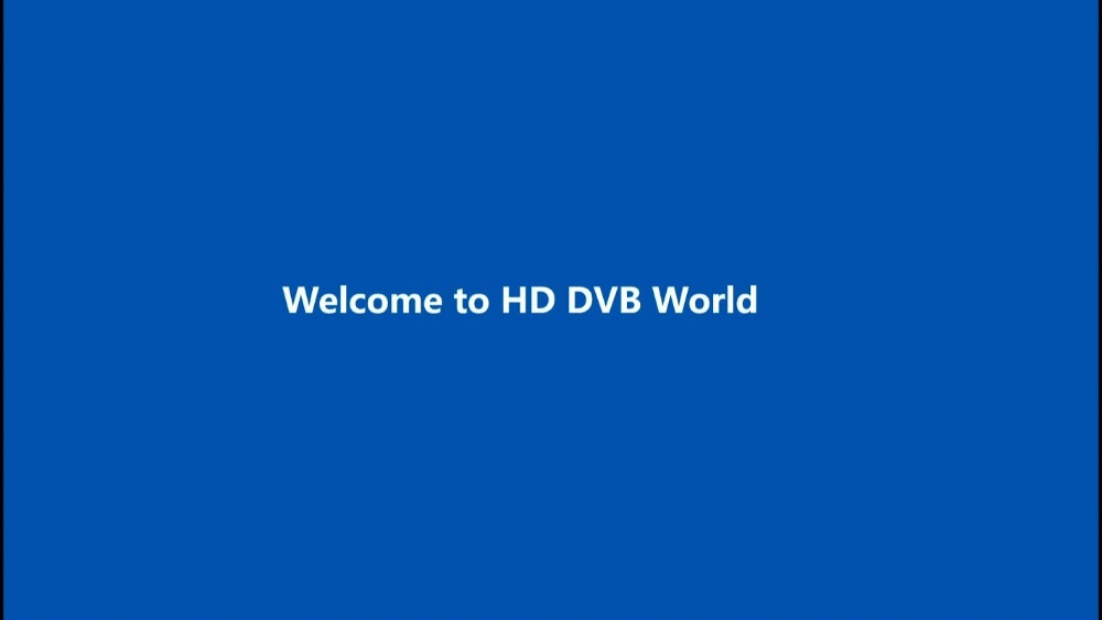 01 Welcome to HD DVB World