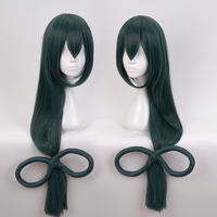 My Hero Academia Boku no Hero Academia Asui Tsuyu Cosplay Costume Accessory Women Girls' Party Party Hair with '8' Bow