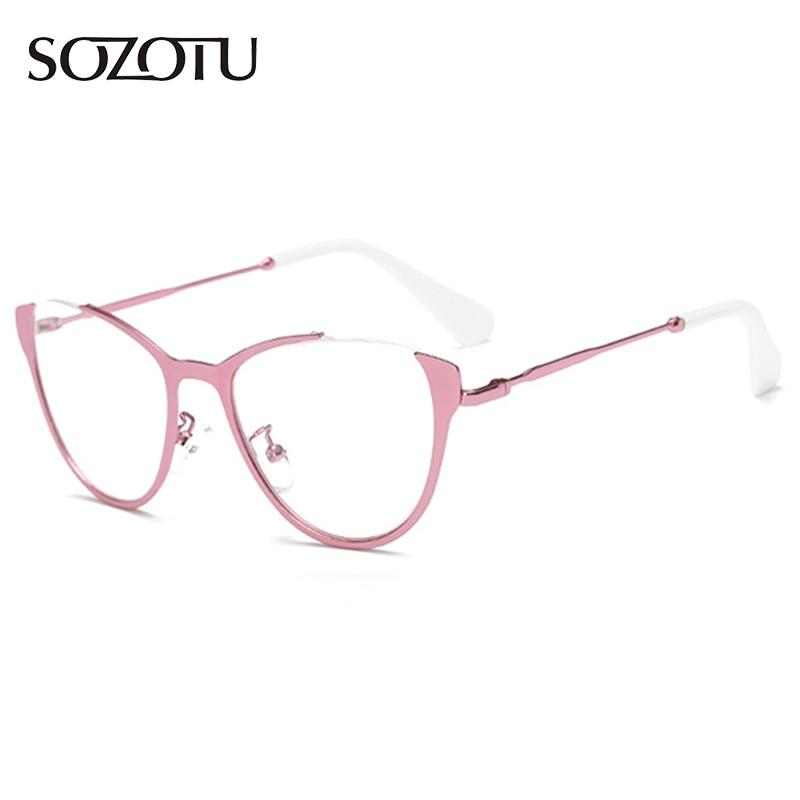 Marco de Anteojos Ópticos Hombres Mujeres Miopía Gafas Gafas Montura de gafas para Mujer Mujer Hombre YQ201