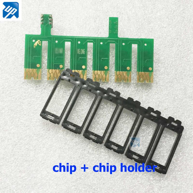 1 قطعة السيارات ARC إعادة رقائق ل epson P50/PX650/PX700/PX800/PX710/PX720/ PX810/PX820/R265/R285/R360/RX560/RX585/RX685 T0801