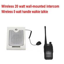 ZHUDELE беспроводной оконный домофон цифровой интероком/walkie talkie подходит для различных мест расстояние 1,5 км-3 км