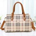 GUDANSEN Stripe Handbag Leather Women Shoulder Bags Medium Big Ladies Tote Bag Female High Quality Shopping Crossbody Bags