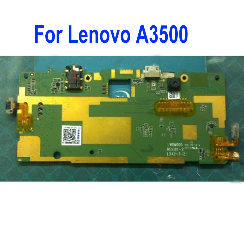 100% Working Mainboard For Lenovo Pad TAB A7 A3500-HV A3500 16GB Tablet Motherboard Logic Circuit Fee Main Board Flex Cable