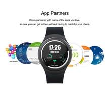 2016 neue K18 X3 1,3 Zoll Hohe Klar Display Runden Bildschirm 3G Smart Uhr mit Android 4.4 OS, WCDMA WiFi Bluetooth SmartWatch GPS