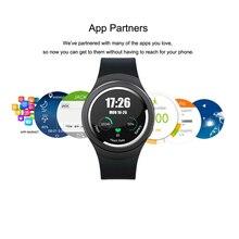 2016ใหม่k18 x3 1.3นิ้วสูงการแสดงผลที่ชัดเจนรอบหน้าจอ3กรัมsmart watchกับandroid 4.4 os, WCDMA WiFiบลูทูธSmartWatch GPS
