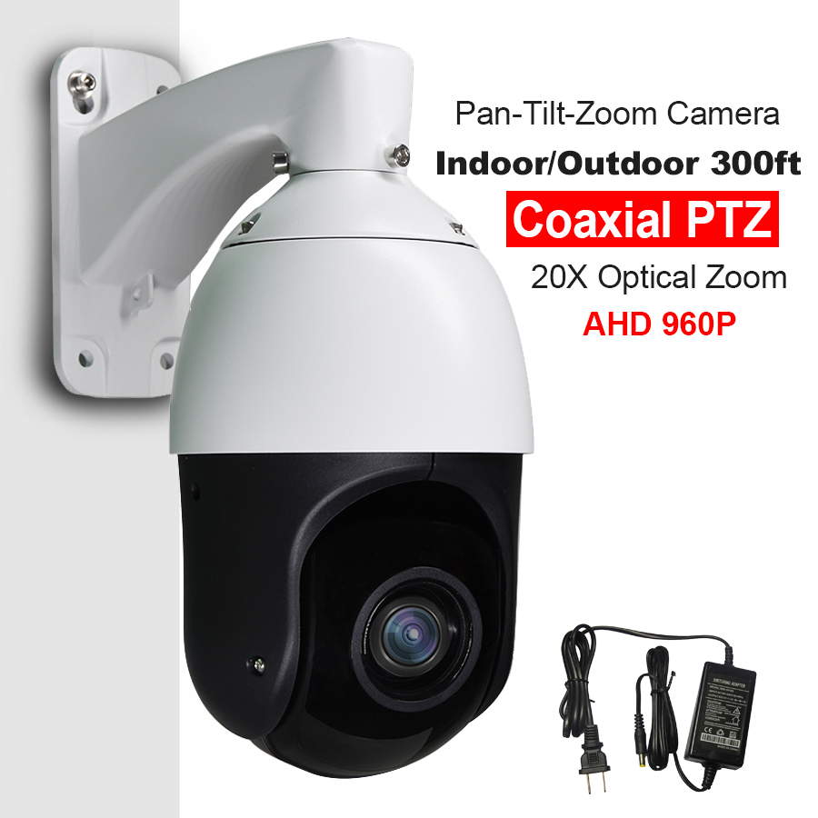 Бяспека CCTV 960P 1.3MP AHD 1500TVL Высокахуткасная купольная PTZ камера 36X аптычная ZOOM IR 100M Auto Focus IP66 Full HD Analog Pan / Tilt