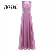 Women Ladies Embroidered Sleeveless 2017 Plus Size Long Party Dress Evening Formal Prom Gown Wedding Maxi
