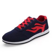Men Canvas Shoes Nice New Fashion Slip On Flat Shoes Men Espadrilles Breathable Men Casual Shoes Mens Trainers