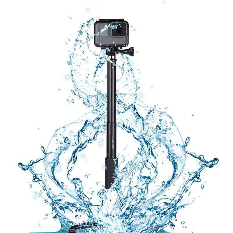 Selfie Stick Waterproof Hand Grip Extendable Monopod Adjustable Pole  Handle For GoPro Hero 7 6 5 4 Session SJCAM AKASO Xiaomi