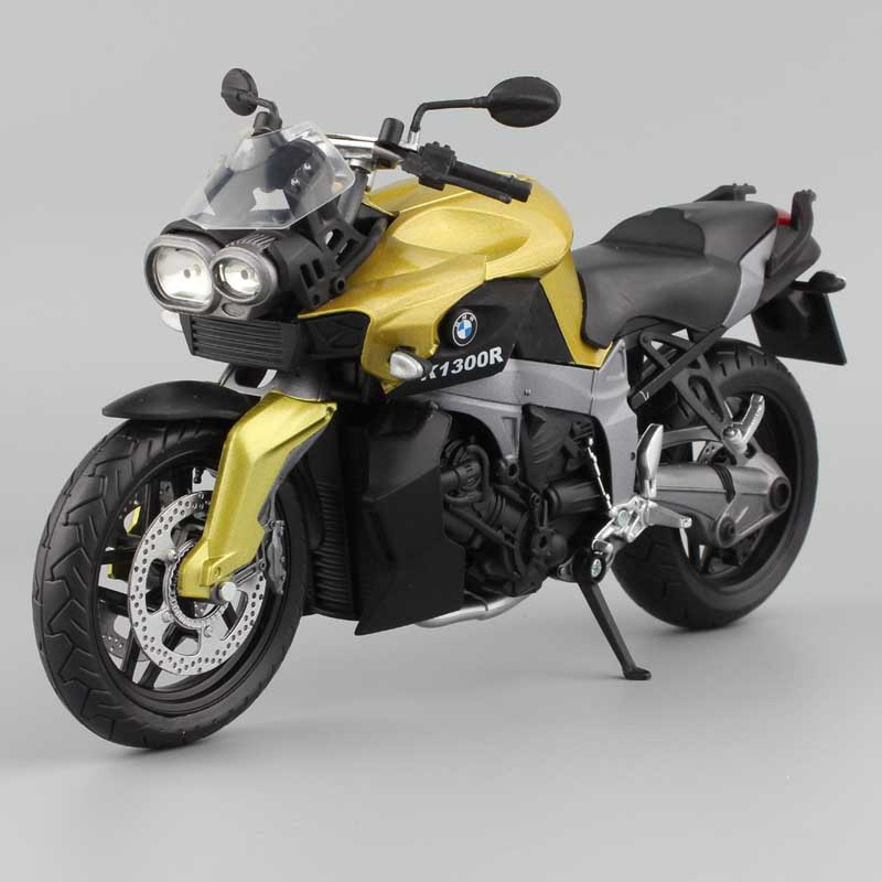 1/12 Scale Automaxx K1300R K 1300 R Muscle Bike Motorcycle Models & Diecast Vehicle Replicas Toy Children Motorrad Motorbike Car
