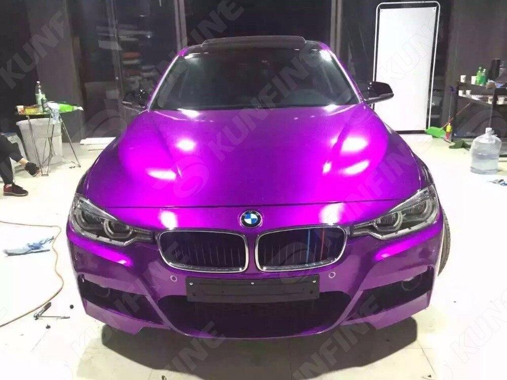 Стайлинга автомобилей Обёрточная бумага Аврора фиолетовый автомобиля виниловой пленки Средства ухода за кожей Стикеры автомобиля Обёрточ