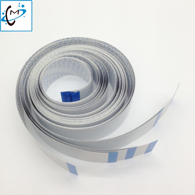 Free shipping !! For DX5 long data cable 31P 3500mm Eco solvent plotter printer Mutoh VJ1604 VJ900C RJ900X main board cable