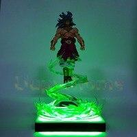 Dragon Ball Z Broly Power Up Flying Led Light Lamp Base Dragon Ball Z Led Light