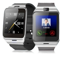 Männer frauen Smartwatch Telefon Android MTK6260A CPU OGS kapazitiven touchscreen verwenden können Twitter Facebook Für iphone IOS Android