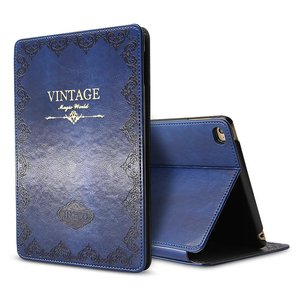 Image 4 - for iPad Air 1 Air 2 9.7 5th 2017 6th 2018 Case Luxury Vintage PU Leather Smart Cover Fashion Business Stand Holder Book