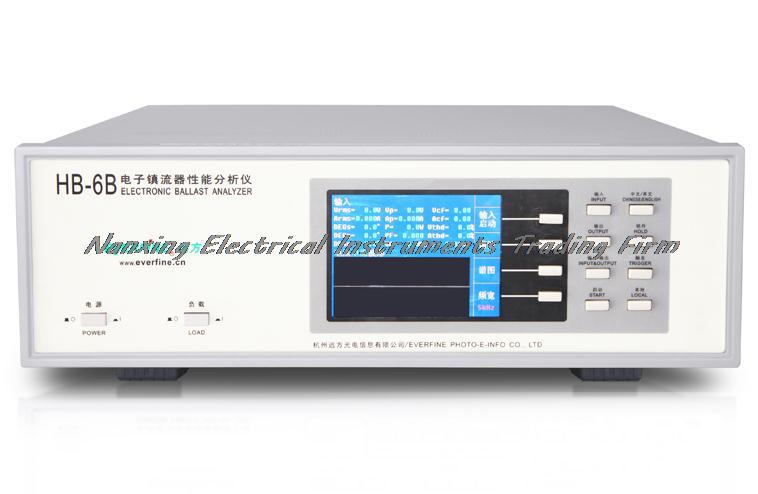 for Fluorescent Lamp 12 Bit 10mhz A/d Sampling Technique Fast Arrival Everfine Hb-6b Electronic Ballast Analyzer