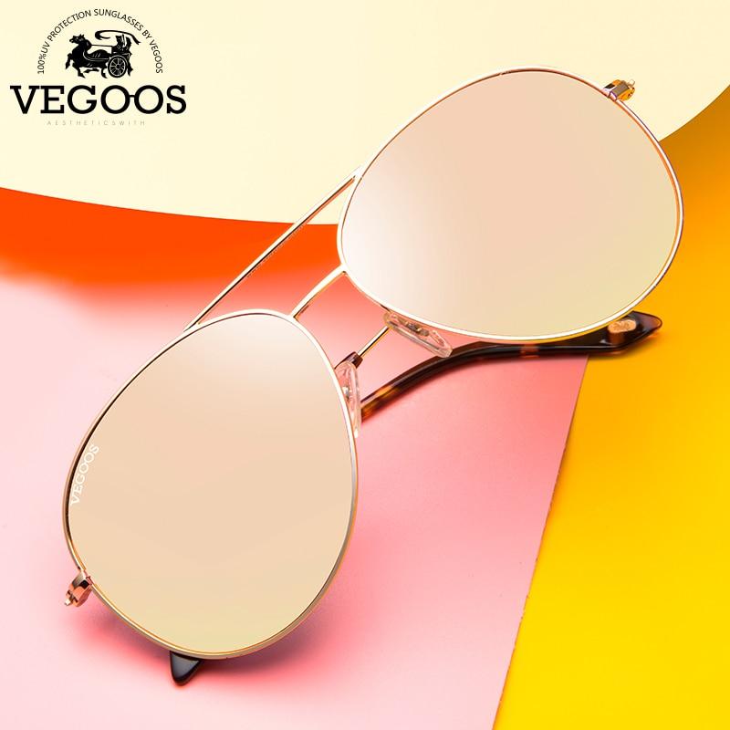 VEGOOS skutečné polarizované pánské a dámské sluneční brýle letectví zábleskové zrcadlo objektivu UV ochrana brýle ženské piloti sluneční brýle # 3025V