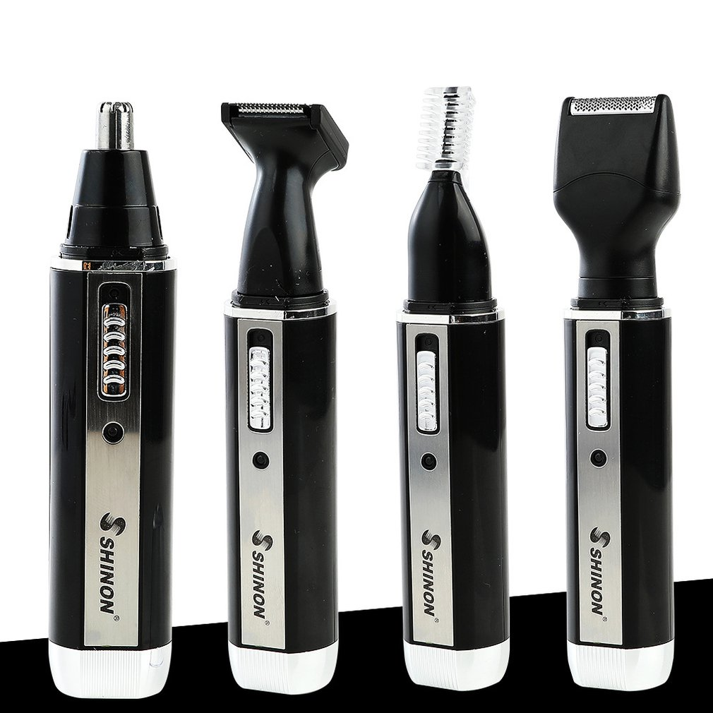 SH-2050 Multifunction 4 In 1 Personal Rechargeable Electric Men Ear Nose Trimmer Hair Clipper Shaver Beard Trimmer