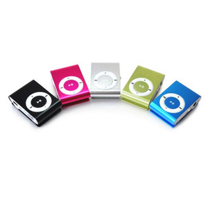 Image 5 - FGHGF הזול USB מתכת מיני קליפ mp3 נגן ספורט נייד מוסיקה דיגיטלית TF/SD כרטיס חריץ נגן mp 3 נגן כרטיס ריצה