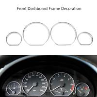 4Pcs Set Dashboard Decoration Frame Auto Car Front Styling Cover For BMW E46 Car Styling Interior