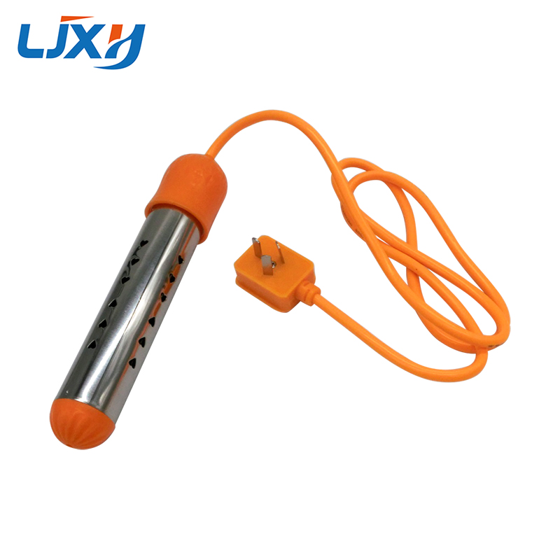 LJXH 220V 2.5KW/3KW Portable Fast Electric Immersion Water Heating Heater Stainless Steel Automatic Power Off For Travel/Home