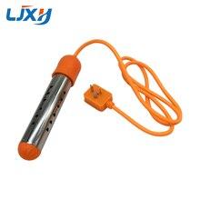 LJXH 220V 2.5KW/3KW 휴대용 빠른 전기 침수 물 난방 히터 스테인레스 스틸 자동 전원 끄기 여행/홈