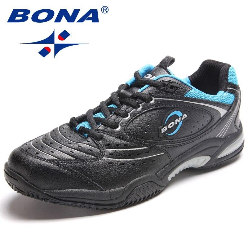 BONA nouveauté Style populaire hommes chaussures de Tennis en plein air Jogging baskets à lacets hommes chaussures de sport confortable livraison gratuite - 5
