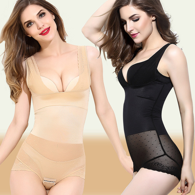 S-XXXL 2 colores Mujeres faja control total body fajas corsé de la cintura que adelgaza la ropa interior postparto quema de grasa