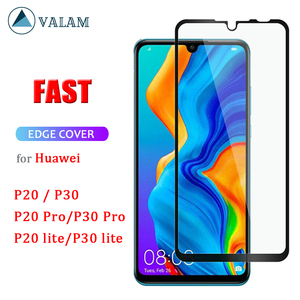 Image 1 - Glass For Huawei P30 lite Tempered Glass For Huawei P30 Lite 9D Protective Glass For Huawei P30 P20 Lite Pro Screen Protector