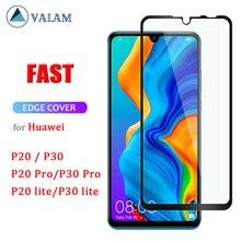 Huawei社のP30 lite強化huawei社のP30 lite 9D保護huawei社のP30 P20 liteプロスクリーンプロテクター