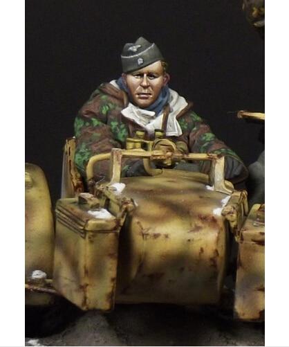 Resina Kits 1/35 los soldados alemanes steward ( no incluir los motor ) Kit sin pintar resina modelo envío gratis