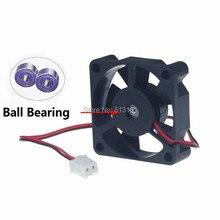 Gdtime Mini Cooler 35mm 12V 0.09A 2Pin Ball Bearing Cooling Fan 35x35x10mm