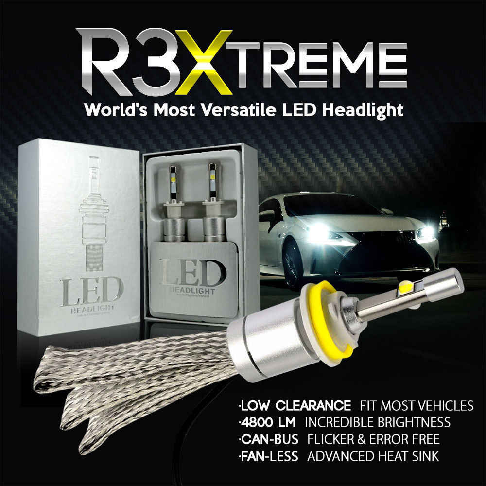 R3 Car LED bulbs 12000LM For CREE XHP50 Chips LED Headlight 6000K 8000K Lamps H1 H4 H7 H11 9005 Auto HeadLamps Front Light Bulbs