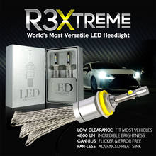 R3 Car LED bulbs 12000LM For CREE XHP50 Chips LED Headlight 6000K 8000K Lamps H1 H4 H7 H11 9005 Auto HeadLamps Front Light Bulbs(China)