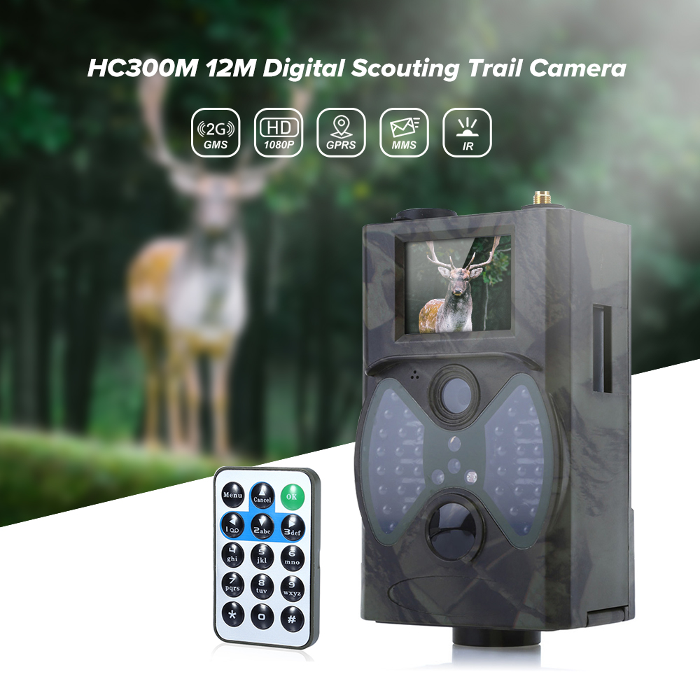 Outlife HC300M 940NM GSM Infrared Night Vision Hunting Camera 2G MMS GPRS Digital Trail Camera Trap Support Remote Control