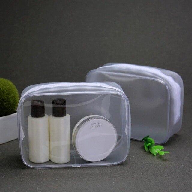 Прозрачный ПВХ прозрачный макияж косметичка чехол Портативный несессер сумка водостойкий Чехол туалетные принадлежности красота наборы для умывания