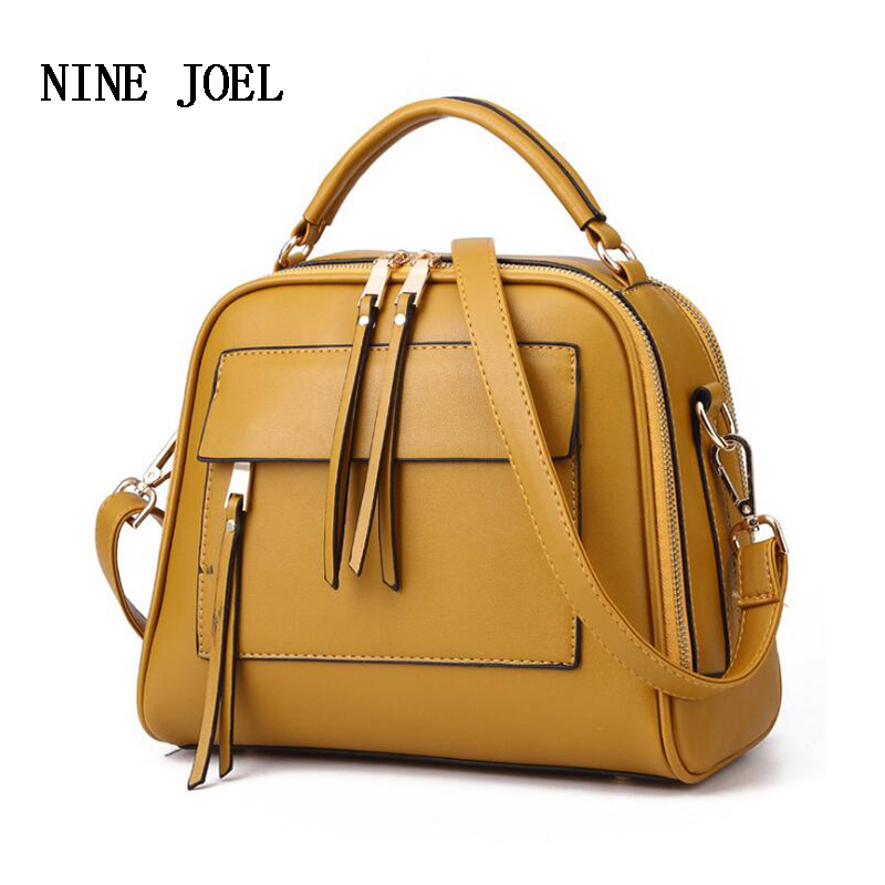 Fashion Designer Luxury Genuine Leather Handbags Women Bags Tassel Bag Handbags Women Famous Brands Ladies Shoulder Bag 2018 New chispaulo women genuine leather handbags cowhide patent famous brands designer handbags high quality tote bag bolsa tassel c165